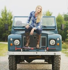 Defendergirls — @defendergirls  #landrover #landroverdefender... Landrover Defender, Landrover Serie, Defender 110, Land Rover 88, Land Rover Series 3, Volkswagen, Range Rover Classic, Foto Casual, Cars