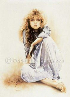Sara Moon - Hippy Girl  - made this in cross stitch one upon a time ago..
