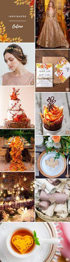10 ideias para uma festa de 15 anos inspirada no Outono - Constance Zahn | 15 anos