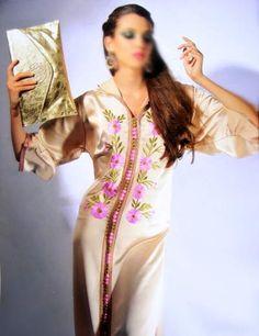 Djellaba Marocaine 2013-2014 :jellaba brodée ~ Caftan Marocain Haute Couture : Vente Location Caftan marocain