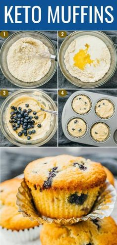 keto meal plan / keto diet for beginners _ keto recipes _ keto dinner recipes _ keto _ keto snacks _ keto breakfast _ keto meal plan _ keto dessert Healthy Diet Recipes, Keto Snacks, Low Carb Recipes, Ketogenic Recipes, Keto Desert Recipes, Healthy Blueberry Recipes, Atkins Diet Recipes Phase 1, Protein Recipes, Keto Blueberry Muffins