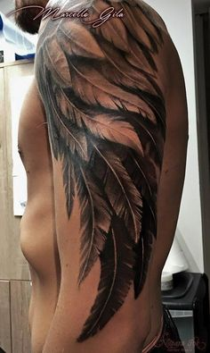 Tattoos for Men -Wing Tattoos for Men - Tattoo de rosto de tigre em preto e cinza com detalhe de olho colorido no braço. Dream Tattoos, Badass Tattoos, Body Art Tattoos, Girl Tattoos, Tattoos For Guys, Sleeve Tattoos, Cross Tattoos, Cover Up Tattoos For Men Arm, Tatoos