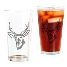Drinking Glass> Vintage Reindeer with glasses in Christmas Colo> Victory Ink 2 Personalized Beer Glasses, Different Types Of Beer, Drinking Glass, Best Christmas Gifts, Pint Glass, Gifts For Him, Reindeer, Clip Art, Mugs