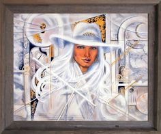 Vogue Lady White Diamond Hat Wall Decor Barnwood Framed P Art Prints, Framed Art, Wall Art, Black And White Posters, Female Art, Art, Posters Art Prints