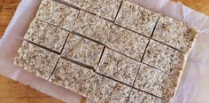 Coconut Health Bars