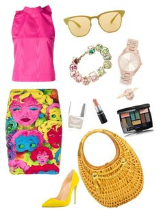 Designer Clothes, Shoes & Bags for Women Msgm, Versace, Ray Bans, Cocktails, Chanel, Michael Kors, Shoe Bag, Polyvore, Stuff To Buy