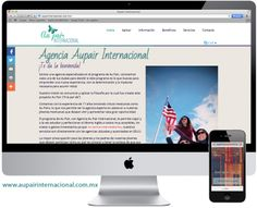 Les presentamos nuestro más reciente proyecto web. AU Pair internacional. www.aupairinternacional.com.mx #AUPAIR #Saltillo #Paginaweb