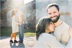 Siegrid Cain Couple in Love shot on Film. Sunshine. Lebensdecke. Castle. Austria.