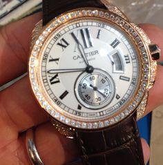 Custom Cartier Calibre $650 via @shopseen