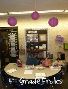 4th Grade Classroom Arrangement | ... took these pictures ...