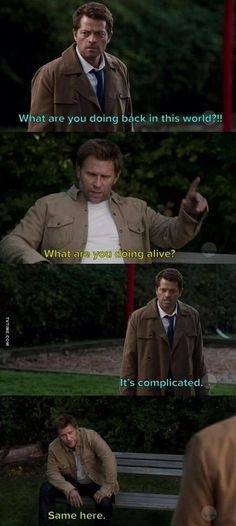 Literally the whole plot of Supernatural