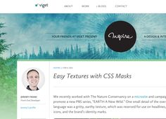 Easy Textures with CSS Masks -  http://viget.com/inspire/easy-textures-with-css-masks