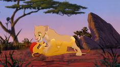 Tiifu and Kion playing around. Tiifu x Kion Lion King Quiz, Lion King Series, Lion King Story, The Lion King 1994, Lion King Art, Lion Art, Disney Lion King, Wolf Spirit Animal, Le Roi Lion