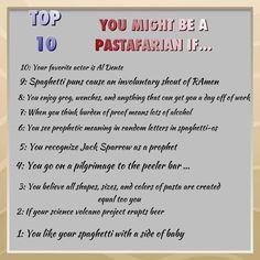 Pastafarian quotes