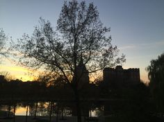 Sunset in Cleveland Downtown  Photo by Malu Borges