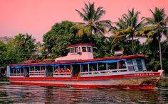 """കടടയ - ആലപപഴ#alleppey #kerala #incredibleindia#godsowncountry#simplicityeverywhere#getgalvanised#indiapictures#keralatourism #colorsofindia.#keralatourism """"Poor man's /backpackersbackwater experience"""" Govt: operatedAlleppey-Kottayam Non-A/C ferry a three hour affair of slow drifting with exotic views village lifeencountersandexhilaratingbreeze just for Rs 20/-. Further can board Public Buses to Thekkady from Kottayam.Kerala is known for its panoramic backwater stretches lush green paddy…"""