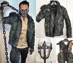 Mad Max Cosplay Fury Road Set Leather Jacket Costume Vest Pants Shirt Leg brace Steampunk Dieselpunk Burner by MerchantHeroes on Etsy https://www.etsy.com/listing/479929711/mad-max-cosplay-fury-road-set-leather