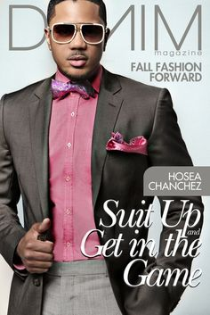 Hosea Chanchez SUITS UP For DENIM MAGAZINE's Fall 2012 Issue | The Young, Black, and Fabulous