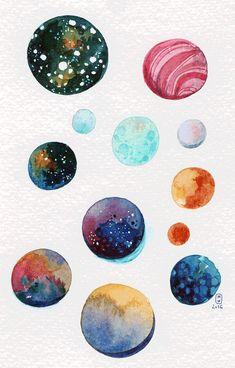 inktober-22-copie diglee planètes
