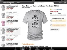 How an algorithm came up with Amazon's KEEP CALM AND RAPE A LOT t-shirt - Boing Boing