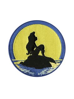 the little mermaid patch - Google Search