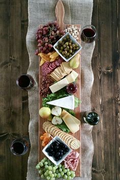 42 Inch- Extra Large Wooden Serving Platter- Cheese Board- i.- 42 Inch- Extra Large Wooden Serving Platter- Cheese Board- in Oak- by Red Maple Run- Cutting Board- Gift for Foodie image 1 - Wooden Serving Platters, Food Platters, Cheese Platters, Cheese Table, Party Platters, Cheese And Cracker Tray, Charcuterie And Cheese Board, Cheese Boards, Wooden Cheese Board