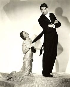"""Irene Dunne and Cary Grant """"The Awful Truth"""" 1937"""