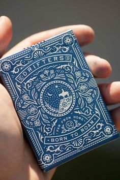 packaging Love this indigo and Wild West inspired letterpress print design Types Of Carpets Tag Design, Label Design, Book Design, Design Art, Print Design, Pattern Design, Custom Design, Packaging Design Inspiration, Graphic Design Inspiration