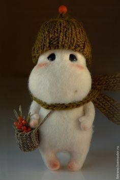 Roztomilé plstené zvieratká, ktoré by ste najradšej vyobjímali Needle Felted Animals, Felt Animals, Cute Baby Animals, Needle Felting, Crochet For Kids, Crochet Toys, Tedy Bear, Funny Toys, Animal Totems