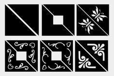 photo corners free SVGs