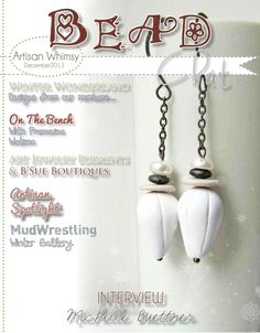 December 2013 Bead Chat Magazine by Artisan Whimsy - Pinned from @Glossi, a free digital magazine creation platform