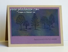 Julie's Stamping Spot -- Stampin' Up! Project Ideas Posted Daily: Pulled Pastels Tutorial