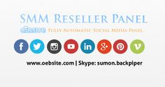 SMM Reseller Panel. Welcome to oEbsite SMM Reseller Panel well knows as Social Media Services Panel and Social Media Marketing Panel. Get Best Lower Prices On All Our Services Here in oEbsite. Buy Instagram Followers, Likes, Comments; Buy USA Facebook Fans, Buy USA Twitter Followers, Buy YouTube Views, Buy Vine Followers, Buy Soundcloud Plays and more 30+ services! We''ve successfully promoted 200+ companies and personal brands boost their social media campaigns. http://oebsite.com