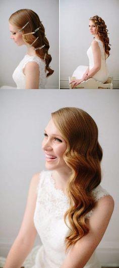 20 Mejores Imagenes De Peinados Con Ondas Hair Down Hairstyles