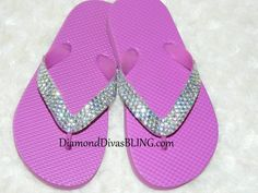Girls kid size sandals! www.DiamondDivasBLING.com ♥ LIKE ♥ our page today! www.facebook.com/​DiamondDivasBLING ♥ Rhinestone Sandals, 3 Shop, Flip Flops, Bling, Facebook, Girls, Women, Little Girls, Daughters