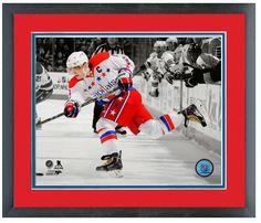 "Alex Ovechkin 2013-14 Capitals - 11 x 14 Matted/Framed ""Spotlight Photo"""