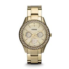 Shop for Fossil's Women's ES3101 Stella Gold-tone Stainless Steel Watch. Get free delivery at Overstock.com - Your Online Watches Shop! Get 5% in rewards with Club O!