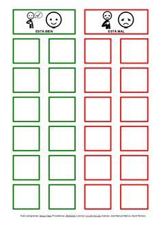ESTÁ BIEN ESTÁ MAL Autor pictogramas: Sergio Palao Procedencia: ARASAAC Licencia: CC (BY-NC-SA) Autores: José Manuel Marco...