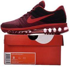 Nike Air Max 2017 Mens running shoes Burgundy black