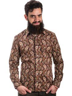 camisa estampada, camisa masculina, moda masculina, camisa floral, estampa floral, camisaria, mahs