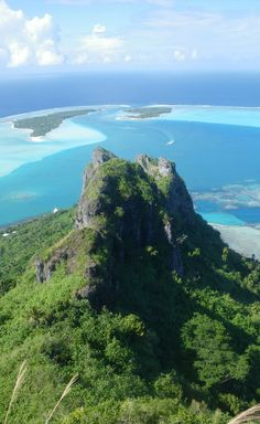 """Maupiti is the smallest and most isolated island of what they call the """"Leeward Group"""" of the Society Islands. Beautiful Places To Travel, Beautiful World, Society Islands, Sea And Ocean, French Polynesia, Amazing Destinations, Travel Photography, Places To Visit, Bora Bora"""