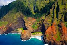 Napali Coastline, Kauai, Hawaii