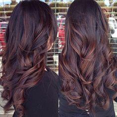 Brunette bayalage - #brownhair #bayalage #haircolor #healthyhair