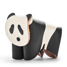 革製のパンダ