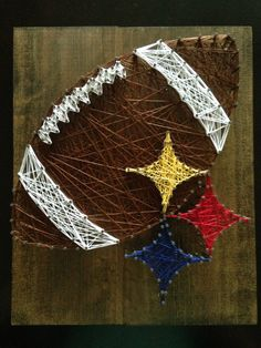 Steelers String Art by MIKnittNCraft on Etsy