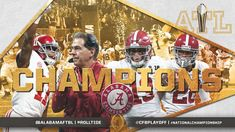 2018 National Champions - The Alabama Crimson Tide collected their fifth national title in nine years after defeating the Georgia Bulldogs in the College Football Playoff National Championship at Mercedes-Benz Stadium in Atlanta Crimson Tide Football, Alabama Football, Alabama Crimson Tide, College Football Playoff, Football Fans, University Of Alabama, National Championship, Georgia Bulldogs, Roll Tide