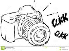 Risultati immagini per macchina fotografica da colorare