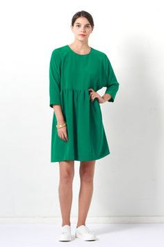 Buy the Cassiopée Dress sewing pattern from I AM Patterns, an easy to make and easy to wear dress that can be sewn in many different fabrics. I Am Patterns, Easy Sewing Patterns, Dress Patterns, Pattern Dress, Sewing Blogs, Sewing Projects, Short Sleeve Dresses, Clothes For Women, Inspiration