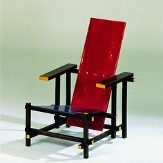 Gerrit Rietveld Rot-Blauer Stuhl
