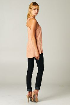 Racerback Henley Tank | Awesome Selection of Chic Fashion Jewelry | Emma Stine Limited